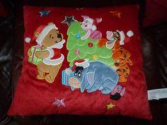 Winnie the Pooh Christmas Cushion | eBay