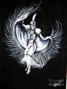 Shawl Dancer Painting  - Shawl Dancer Fine Art Print