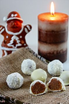 Cinnamon and Coriander: Boozy Speculoos & Marzipan Truffles