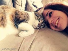 20.02.2016  le sourire de mes amours Flow, Cats, Animals, Smile, Love, Gatos, Animales, Animaux, Animal