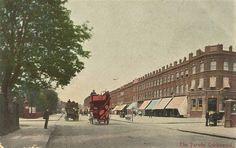 Old Postcard....Cricklewood. Postmarked 5 April 1906