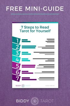 FREE PRINTABLE: Tarot Card Keywords at a Glance Download this free PDF resource to discover how to create accurate and insightful Tarot readings every time you consult the Tarot cards!