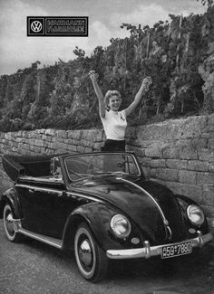 Classic Car News Pics And Videos From Around The World Volkswagen Germany, Vw Volkswagen, Vw Coccinelle Cabriolet, Vw Fox, Vw Cabrio, Vw Beetle Convertible, Beetle Car, Vw Vintage, Car Advertising