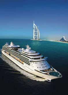 wow Radiance of the Seas in Dubai