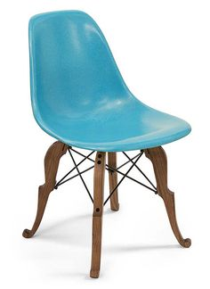 Fiberglass Shell Chair - Prince Charles Side Shell - Modernica