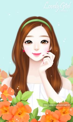 Image in Lovely Girl💋 collection by ChiangWaiFun Cartoon Girl Images, Cute Cartoon Pictures, Cute Cartoon Girl, Cartoon Girl Drawing, Girly Pictures, Anime Girl Cute, Anime Art Girl, Beautiful Girl Drawing, Cute Girl Drawing