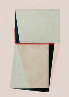 jesus-perea:  Jesús Perea / 2015 Abstract composition 561 Giclee print - 60 × 84cm Limited edition (20) www.jesusperea.com
