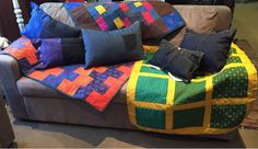 therusty_hen_crafts: New home ware range Upcycle, New Homes, Range, Quilts, Blanket, Contemporary, Bed, Handmade, Crafts