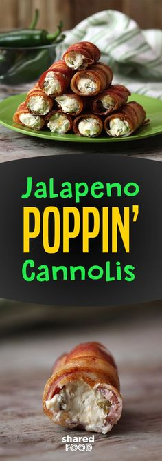 If you know and love jalapeno poppers, this recipe for Jalapeno Poppin' Cannolis takes things to a whole new level. Tin foil and oven-ready cannelloni are your friends when it comes to the assembly of these delicious bacon appetizers. Whip these up for a party, and your friends and family will be begging for more!