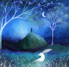 #inspiration #art moonlit hare