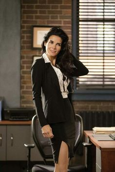 Angie Harmon ~ Going to miss 'Rizzoli & Isles'  : (