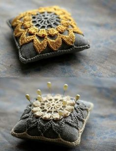 Transcendent Crochet a Solid Granny Square Ideas. Inconceivable Crochet a Solid Granny Square Ideas. Crochet Home, Crochet Crafts, Yarn Crafts, Crochet Projects, Sewing Crafts, Knit Crochet, Sewing Projects, Sewing Kits, Crochet Granny