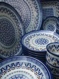 Bunzlau Castle pools aardewerk, hier in prachtige decor Marrakesh