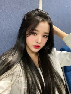 IZ*ONE-Wonyoung official update Korean Couple, Korean Girl, Asian Girl, Kpop Hair, Woo Young, Japanese Girl Group, Pop Idol, Beauty Shots, Starship Entertainment