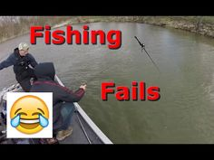 Fishing Fails - YouTube