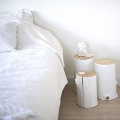 bedside table can be so simple