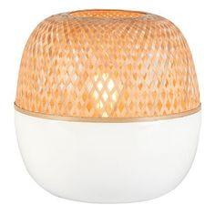 Wow, dit is nou echt een lamp met frisse looks! De GOOD&MOJO Mekong tafellamp is een combinatie van fris shiny wit en duurzaam bamboe. Het gevlochten bamboe zorgt voor een flinke dosis warm licht; dankzij het patroon ontstaat een mooi lichtspel!