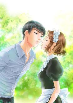 전화와 나-로맨스(완결) : 네이버 블로그 Manga Couple, Anime Love Couple, Couple Art, Best Couple, Anime Couples, Cute Couples, Cosplay Tumblr, Anime Love Story, Fantasy Couples