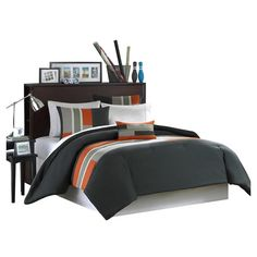 Found it at Wayfair - Pipeline Comforter Set in Dark Olive... aaron's room