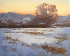 mark boedges paintings | Ranchitos Morning by Peggy Immel