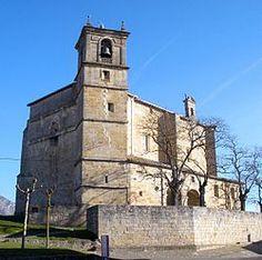 Zalduendo de Álava - Iglesia parroquial de San Saturnino de Tolosa.