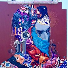 by Tristan Eaton in West Palm Beach, Florida, 8/16 (LP)