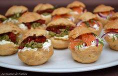 Petits choux salés pour l'apéro !, Recette de Petits choux salés pour l'apéro ! par Ma cuisine ... - Food Reporter