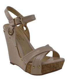Nude Daly 2 Wedge