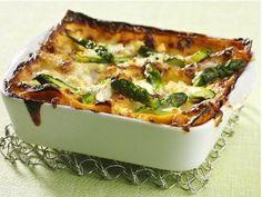 Lasagne alle verdure, prova quelle in bianco con gli asparagi