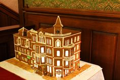 Strater Hotel Gingerbread House