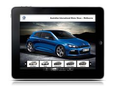 Project: Volkswagen Motorshow iPad App. Role: Producer. Agency: Tribal DDB.