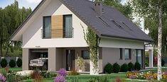 Projekt domu KA33 115,30 m² - koszt budowy - EXTRADOM Outdoor Decor, House, Home Decor, Decoration Home, Home, Room Decor, Home Interior Design, Homes, Houses