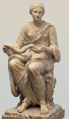 Ancient Greek & Roman Sculpture: Hygeia