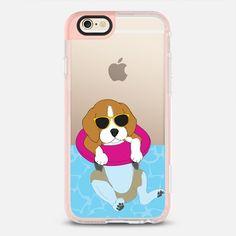 Swimming Beagle - New Standard Pastel Case