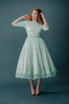 Coloured Wedding Dresses ~ Inspiration For the Bride Who Doesn't Want To Wear White | Love My Dress® UK Wedding Blog