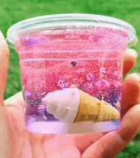 Slime in a jar - Easy Crafts for All Le Slime, Slimy Slime, Slime Gif, Diy Crafts Slime, Slime Craft, Balle Anti Stress, Pretty Slime, Slime And Squishy, Rosalie