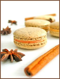 Chai Spice Macarons - soooo delicious smelling and tasting!