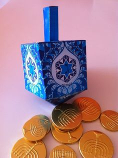 hanukkah  paper driedel hp craft studio