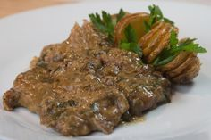 """Sofrito"" recipe speciality form Corfu island"