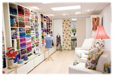 Fresh Purls - I want to take a knitting class here! Maybe in the new year. :)