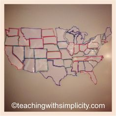 USA Regional Maps Coloring Pictures And Color Activities - Interactive us map for kids