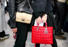red handbag street - Google Search