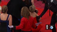 Jennifer Lawrence takes a tumble...this is why she is actually my twin...