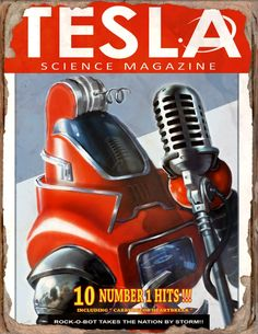 Tesla #8 Book - Fallout 4 by PlanK-69