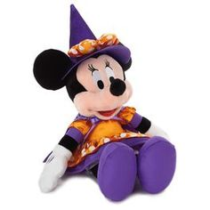 Minnie Mouse the Witch Stuffed Animal,