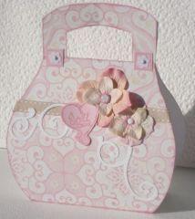 sac en scrap creation Laurence Guevel bricolage fête des mères, mai 2010