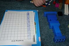 Lego Science and Math Activities by Amy Ahola at PreK + K Sharing