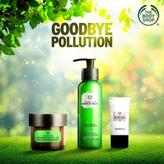 The pollution in the city is unnerving! Kiss the impact of pollution goodbye with our range of products and walk confidently. Body Shop At Home, The Body Shop, Body Shop Christmas, Body Shop Skincare, Beauty Haven, Interactive Posts, Skin Products, Skin Care Regimen, Beauty Shop