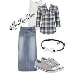 A fashion look from September 2012 featuring AllSaints tops, Converse sneakers and Georg Jensen bracelets. Browse and shop related looks.