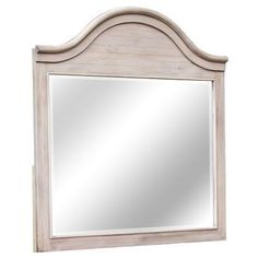 Chelsea Home Furniture 772000-141-M Ashwell Mirror in Antique White